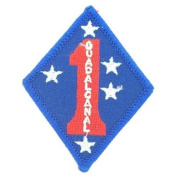 1st Marine Division Guadalcanal 7.6cm Patch