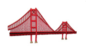ID #3070 Golden Gate Bridge Embroidered Iron On Travel Applique Patch