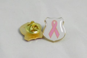 R4.biz Breast Cancer Campaign Pin Badge