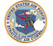 Strategic Air Command Patch