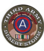 3rd Army Desert Storm Patch