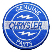 CHRYSLER Genuine Parts Service Logo PC03 Iron on Patches