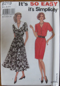 Simplicity Pattern 8219 It's So Easy Misses Dress Size 8-18