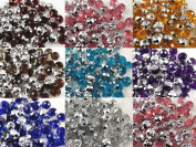 80pcs New 12mm Round Resin Ball Button Sewing Craft Appliques Lots Upick