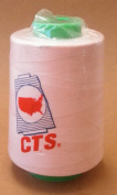 CTS Pink 30/2 T40 216G 6000 Yard Spun Polyester Thread