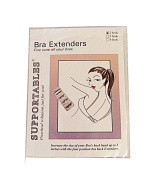 Supportables 2 Hook Bra Extenders