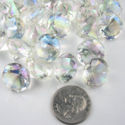 20mm 25 Carats Diamond Confetti AB Coating For Table Scatter Wedding Decorations - 25/CNT