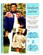 Step by Step Sewing Pattern Stadium Jacket Size 4 - 22