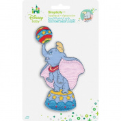 Disney Dumbo With Ball Iron-On Applique-