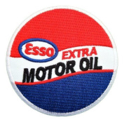 Esso Extra motor Oil Gas Mobil Fuel Logo Shirts Embroidered Iron or Sew on Patch by Twinkle Lable
