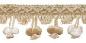 Ivory, Sand 5.1cm Imperial II Onion Tassel Fringe Style# NT2503 Colour