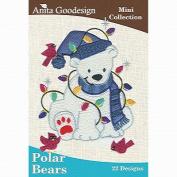 Anita Goodesign Embroidery Designs Cd Polar Bears