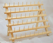 New ThreadNanny 60 Spool Thread Rack for Sewing - Quilting - Embroidery Spools and Mini Cones