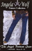 Sewing Pattern - Angela Wolf #4200 The Angel Bootcut Jean
