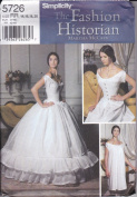 Simplicity Sewing Pattern 5726 Misses' Historical Undergarments, Petticoat, Chemise, Corset - Sizes 14-16-18-20