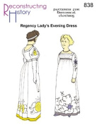 1790 -1810 Regency Evening Dress Pattern