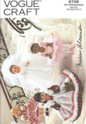 Vogue 8709 Sewing Pattern makes 20cm Madame Alexander Doll Clothing makes four outfits RARE and OUT of PRINT