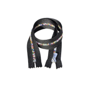 YKK Excella Rainbow Zippers 90cm ~ Closed Bottom