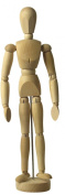 Human ARTIST MODEL - 41cm inch - Drawing Mannequin Body
