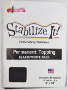 STABALIZE IT EMBROIDERY STABALIZER. stabilise IT! PERMANENT TOPPING