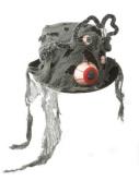 EYEBALL Bloodshot Bowler HAT Halloween Costume Accessory