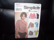 Simplicity Pattern #7013 SIZE HH