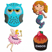 Iron on Patches for Girl #1 - Super Save Pack