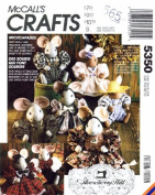 McCall's 5350 Crafts Sewing Pattern Gooseberry Hill Micecapades Mouse Doll & Clothes