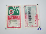 1 Pack of 10 Singer Home Sewing Machine Needles size 11 (For Thin Cloth) Craft DIY