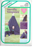 Indoor/Outdoor Teepee - Sewing Template - 150cm Height, 150cm Base
