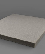 1 x 24 x 108 Packing Foam - Charcoal