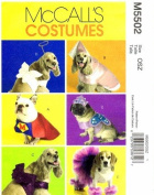 McCall's 5502 Crafts Sewing Pattern Pets Dog Costumes