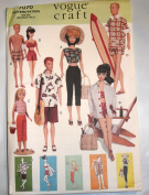 Vogue 7070 Barbie Vintage Fashion Doll Clothes Sewing Pattern