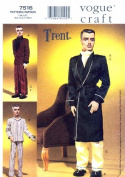 Vogue 7516 Trent Doll Clothes Sewing Pattern