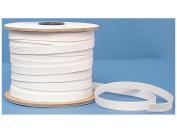 Conrad Jarvis Designer's Choice Elastic Flat Braid Reel White 3/8x 70 yd 70 Yards