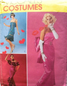 McCall's 3385 Misses Glamour Costumes