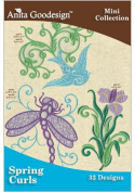 Antia Goodesign Spring Curls Embroidery Designs