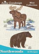 Anita Goodesign Embroidery Machine Designs Northwoods