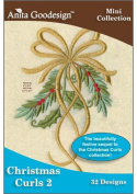 Anita Goodesign ~ Christmas Curls 2 ~ Embroidery Designs