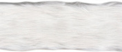 White Faux Fur Band 10cm Wide 6 Yards