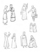 Children of Mediaeval Times, Circa 1060-1320 Pattern