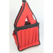 Bluefig Crafters Tote in Red