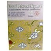 Dakota Collectibles Embroidery Designs - Floral Cutwork Elegance