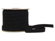 Conrad Jarvis Designer's Choice Elastic Flat Braid Reel Black 1/2x 60 yd 60 Yards