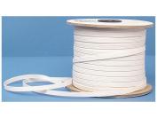 Conrad Jarvis Designer's Choice Elastic Flat Braid Reel 0.6cm White 120yd