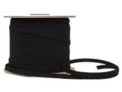 Conrad Jarvis Designer's Choice Elastic Flat Braid Reel Black 1/4x 120 yd 120 Yards