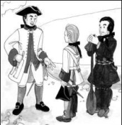 Justicorps (Military Coat) and Capot (Canadian Hooded Coat) Pattern
