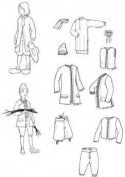 Nouville France Boy's Patterns Circa 1660-1760
