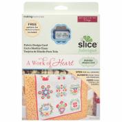 Slice Crafts Slice Design Card for Crafting, A Work of Heart