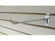 RK-SW10C Slatwall Accessories 25cm Hook /50 units Chrome